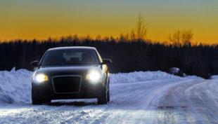 Guidare in sicurezza con ghiaccio e neve