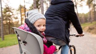 Bimbi sicuri e protetti anche in bici